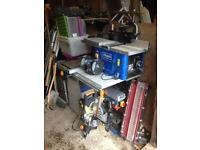 Table saw 8 inch cast iron plus more