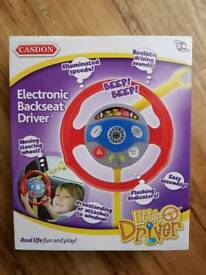 Casdon Electronic Backseat Driver Steering Wheel Kids Toy