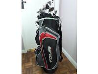 Dunlop 65 Golf Clubs with Dunlop Tour Bag, Balls and Tees