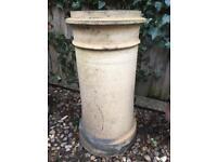 Reclaimed garden chimney pot (5 available - £60 each)