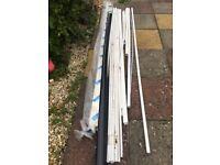 3m lengths of plastic conduit pipe
