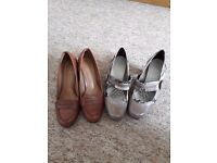 Ladies 'Clarks' Footwear size 5 and 5 1/2
