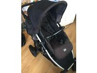 Double buggy Britax B-dual