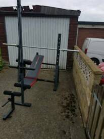 Weider pro 550 Olympic bench
