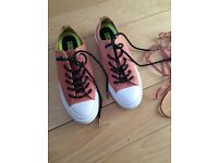 *Lowered price must goooo* brand new converse