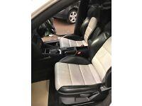 Audi A3 5 Door Black & silver S Line Heated leather seats