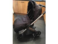 Oyster buggy and carrycot