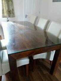 Indian Mango Wood Dining Table