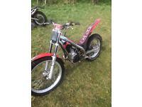 Gas gas txt pro 250, 2004 road registered trials bike