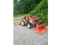 compact tractor FRONT LOADER ONLY