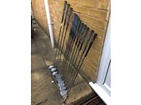 Almost new ladies golf clubs
