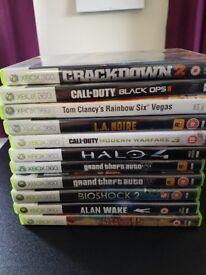 11 XBOX360 games