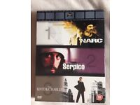 Gangster style DVD collection