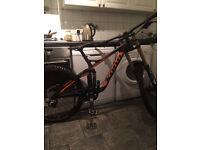 Kona Carbon Operator Downhill Mountain Bike