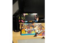 [Unboxed] Wii U 32Gb (Black) with Controller and Splatoon Game.