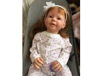 Genuine reborn toddler doll
