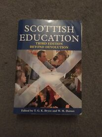 Scottish Education book for ale