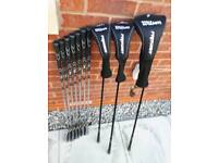 Wilson pro staff golf set