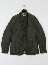 barbour sports wax jacket new with tags on
