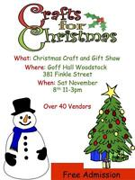 Woodstock craft show looking for vendors