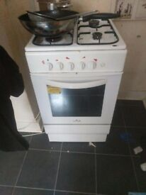 Fridge Freezer and Gas Cooker (£30 each or £50 for both)