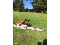 Stihl 038 AV petrol chainsaw