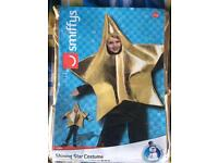 Brand New Star Outfit for Christmas Nativity Aged 3-7 years old
