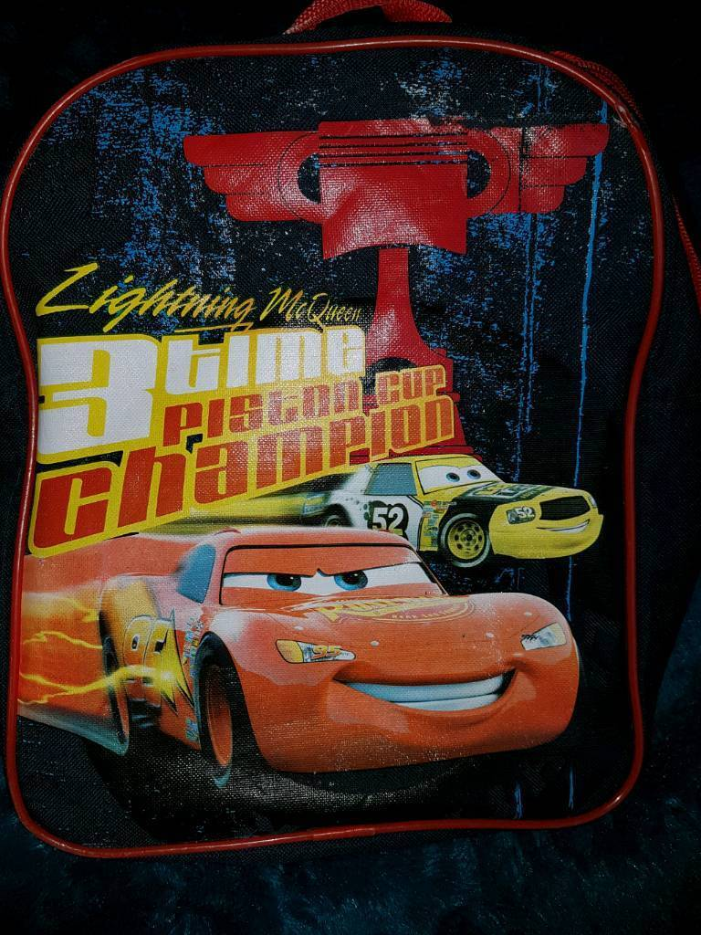 Lighting McQueen bag