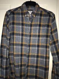 Next men's shirt size small brushed cotton