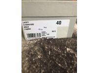 Carvela Ladies 'Lacey' Gold Flat Shoes UK Size 7