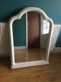 Beautiful Ivory colour mirror