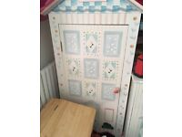 Girls painted French bookcase £150 stunning quality item.