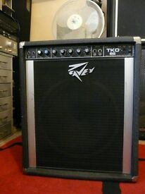 Peavey TKO 65 Bass Amplifier Amp perfect sound guitar keyboard
