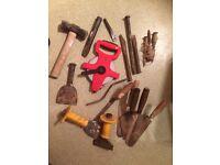 Bricklayers tools