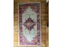 Next rug pink multicoloured 80cm x 150cm