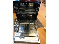 Kenwood full size 12 setting dishwasher in sleek black - £80