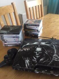 PS3 Slim 160gb with game bundle