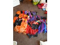 Bundle of Halloween costumes around age 5-7