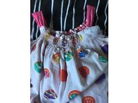 Girls summer outfit, two piece age 18-24 months-new