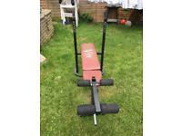 Weight bench with 4 weights- 4,5kg