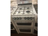 50CM WHITE NEWHOLME GAS COOKER