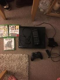 Xbox one with games and accessories swap ps4