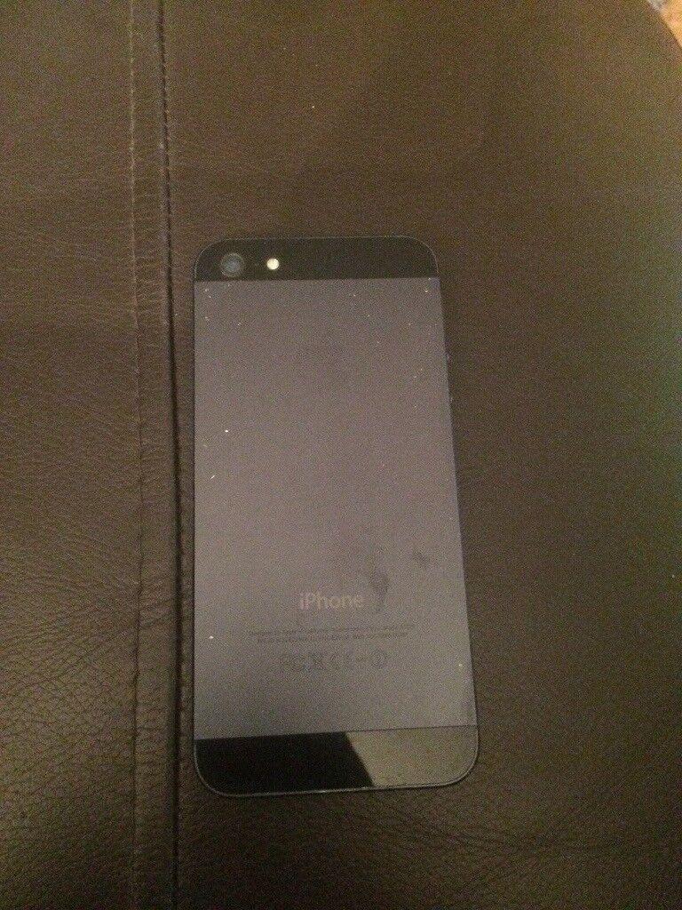 IPhone 5 Black unlocked £75 ONO