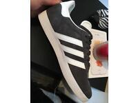 Grey Adidas trainers size 7