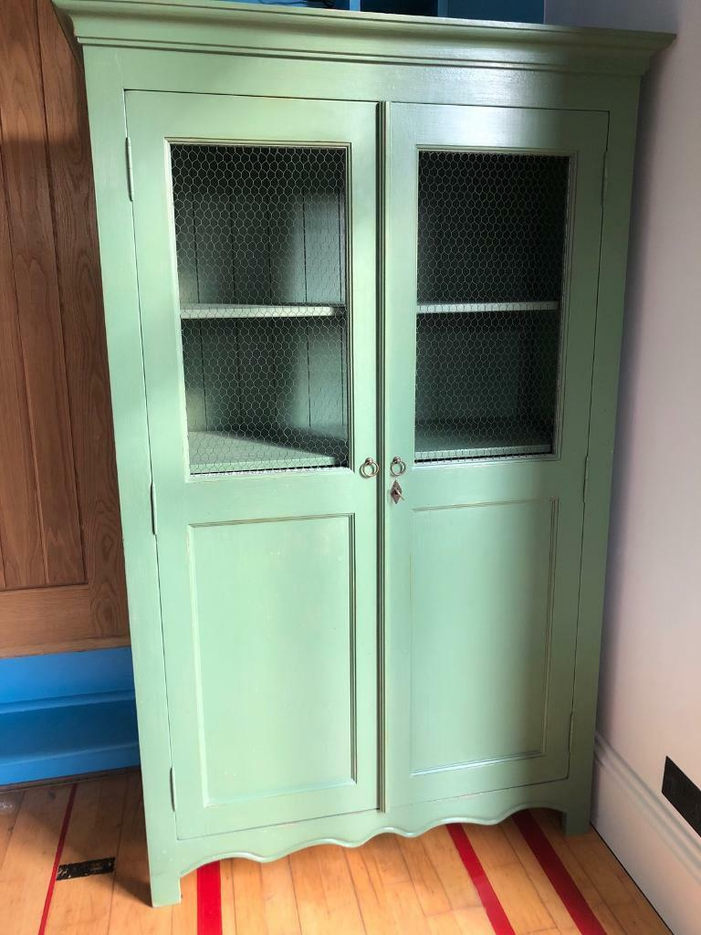 Green Pantry Armoire Linen Press Cupboard In Redhill