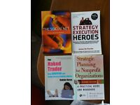 1. THE SOCIAL NET 2. STRATEGY EXECUTION HEROES 3. THE NAKED TRADER, 4. STRATEGIC PLANNING
