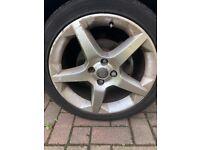Vauxhall Tigra Penta Alloy Wheels 205/45/17