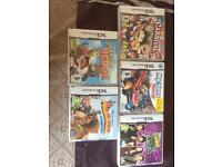 Ds games and wii games