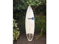 Channel Islands Fred Rubble 5'10 Al Merrick Surfboard shortboard