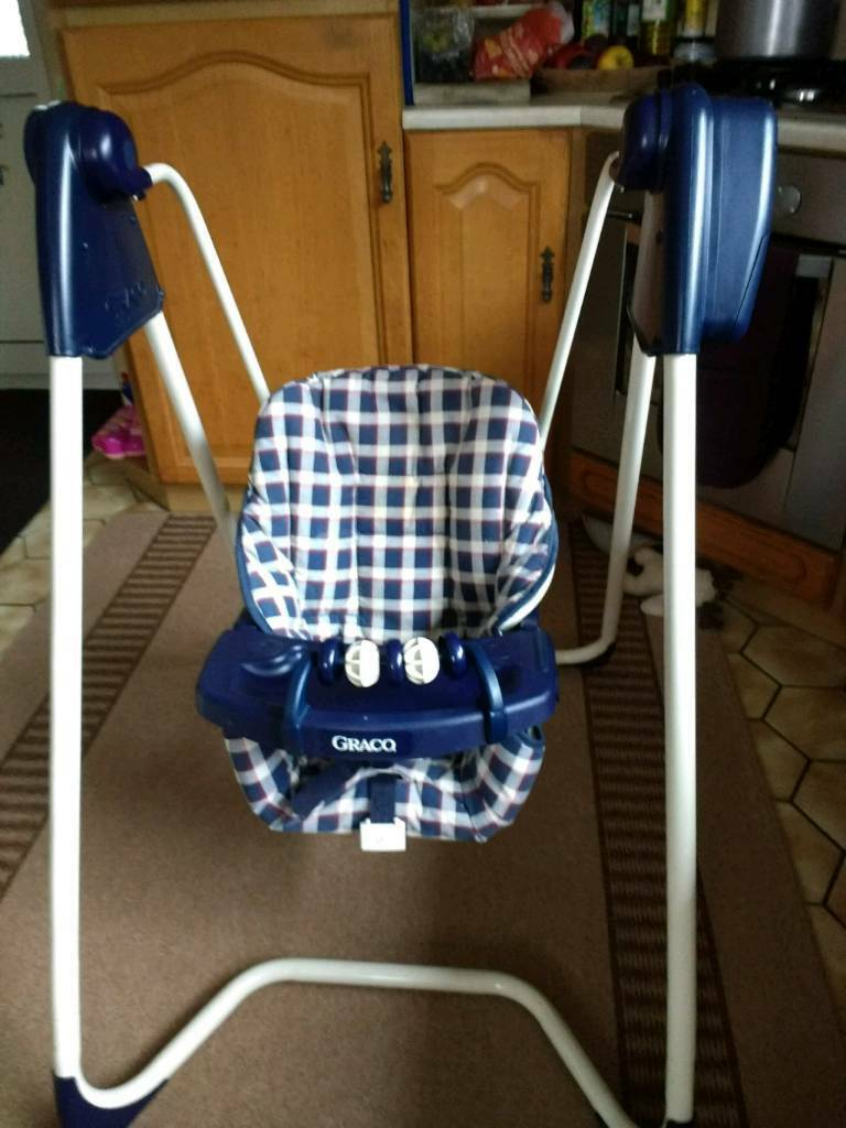 Graco Baby Swing Battery Operated In Burry Port